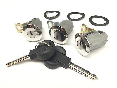 Garantie 5 an Lot de 5 Serrures de porte barillet pour FIAT SCUDO 95-07 ULYSSE 94-02