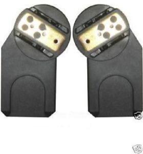 brand new quinny zapp car seat adaptors for maxi cosi cabrio pebble car seat ebay. Black Bedroom Furniture Sets. Home Design Ideas