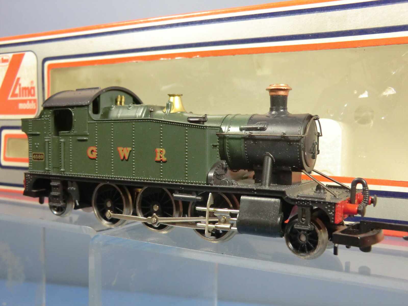 LIMA  MODEL No.205111 MWG GWR 2=6=2T    SMALL  PARAIRIE TANK (GREEN LIVERY) VN MIB 65da0c