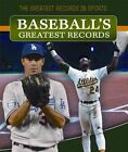 Baseball's Greatest Records by Andrew Pina (Hardback, 2015)