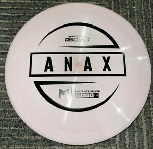 DISCRAFT ESP SWIRLY ANAX 5X PAUL MCBETH DISC GOLF DRIVER PK/BK 173-4G @ LSDISCS
