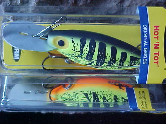 "Storm Original Series 2/"" HOT /'N TOT 05 H60 for Walleye//Bass//Salmon//Trout"