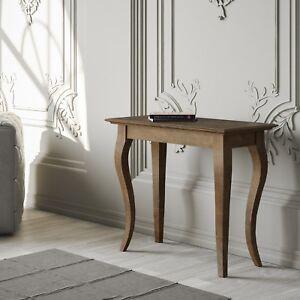 Soggiorno In Stile Classico.Dettagli Su Tavolo Consolle Allungabile Noce Bassano Small Salotto Soggiorno Stile Classico