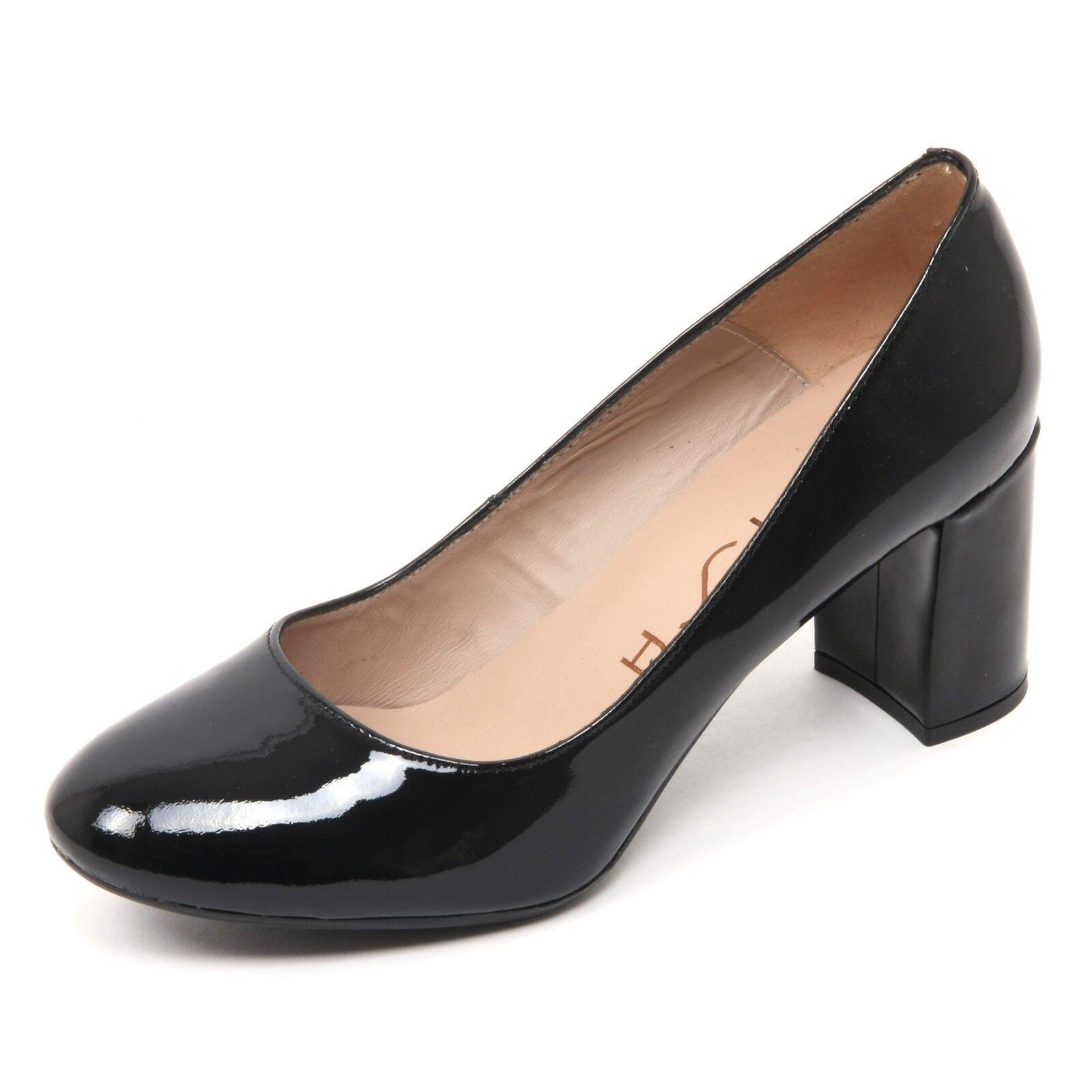 B7688 Escote mujer UNISA mifes Scarpa Scarpa Scarpa negro Vernice Zapato Mujer  calidad de primera clase
