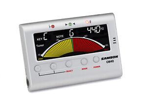 Samson Cm40 Chromatic Tuner + Metronome - Accordatore Cromatico + Metronomo Lwahgxxr-07165316-995483810