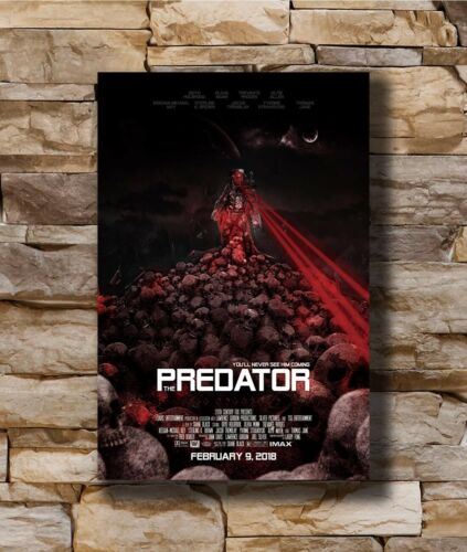 Hot Horror Movie The Predator New Art Poster 40 12x18 24x36 T-2987