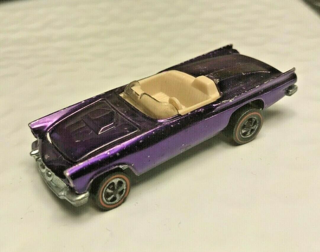 Hot Wheels rotline Classic '57 T Bird lila spectraflame mattel us rotlines car