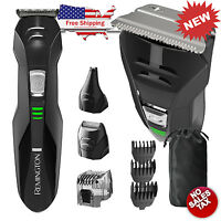 Cordless Hair Clippers Remington Professional Trimmer Set Electric Beard Shaver