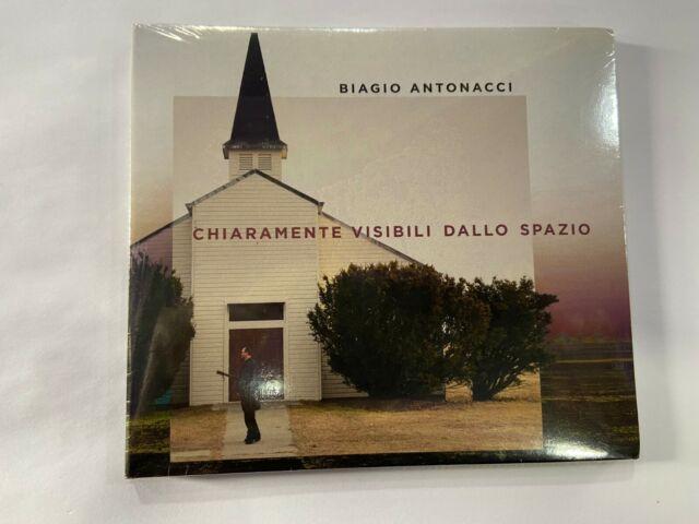 CD BIAGIO ANTONACCI CHIARAMENTE VISIBILI DALLO SPAZIO NUOVO SIGILLATO SPE RACCO