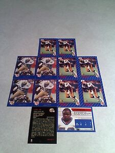 Michael-Mike-Gray-Lot-of-20-cards-3-DIFFERENT-Football-CFL