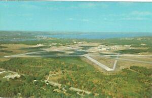 Cherry-Capitol-Airport-Traverse-City-Michigan-Vintage-Unused-Postcard-A112