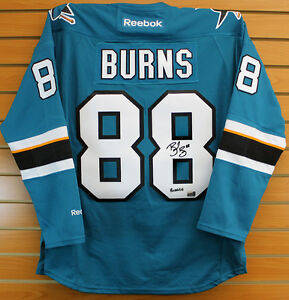 Brent-Burns-San-Jose-Sharks-Signed-Autographed-Sharks-Burnzie-Inscribed-Jersey