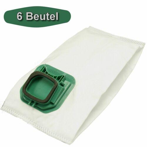 6 Vlies-Staubsaugerbeutel Staubbeutel Ersatz für Vorwerk Kobold 140 und 150