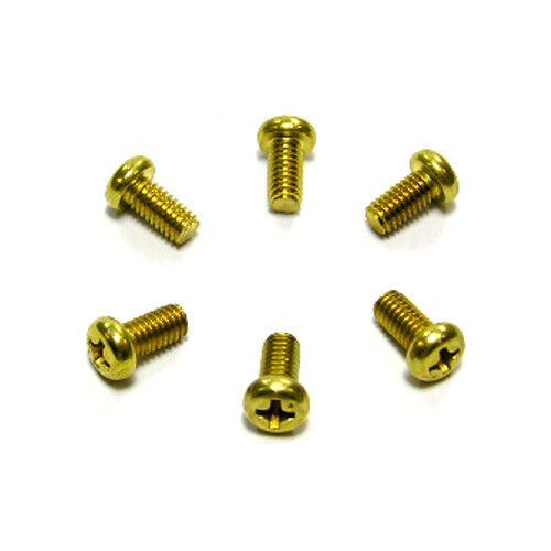 Genuine Yanmar Marine 2GMF Water Pump Cover Plate Screws 26554-040082 Pack of 6