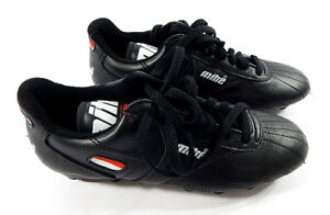 359cee97f Mitre Finale Soccer Cleats New   Youth 5 1 2   Black   Red