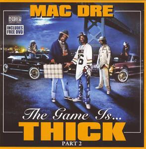 Mac-Dre-el-Juego-Es-Grueso-Parte-2-pa-CD-DVD-Nuevo-Sellado-C-Mob-figaz-dubee