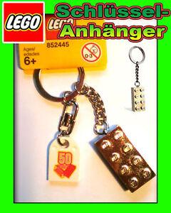 LEGO 50 Jahre EXCLUSIV Schlüsselanhän<wbr/>ger Goldener Stein 852445