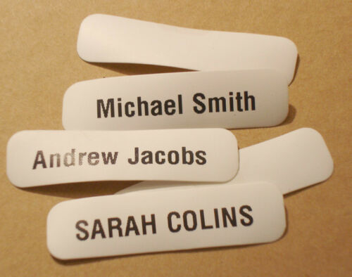 25 Printed iron-on Name Tapes Name Tags iron on Labels