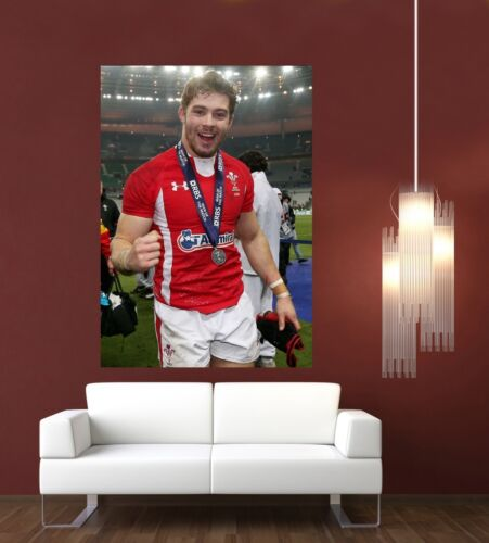 Leigh Halfpenny Wales /& Lions Rugby Giant 1 Piece  Wall Art Poster SP232