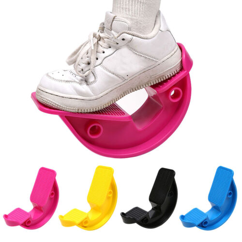 Calf Stretcher Tight Yoga Fitness Crus Fasciitis Tendonitis Tool Foot Rocker