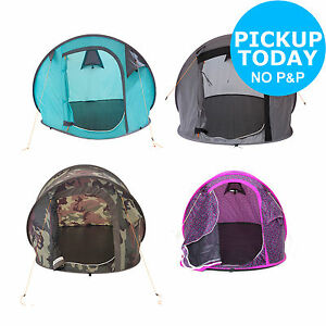 Image is loading Trespass-2-Man-Festival-Pop-Up-Tent-Blue-  sc 1 st  eBay & Trespass 2 Man Festival Pop Up Tent - Blue/Camouflage/Grey/Purple ...