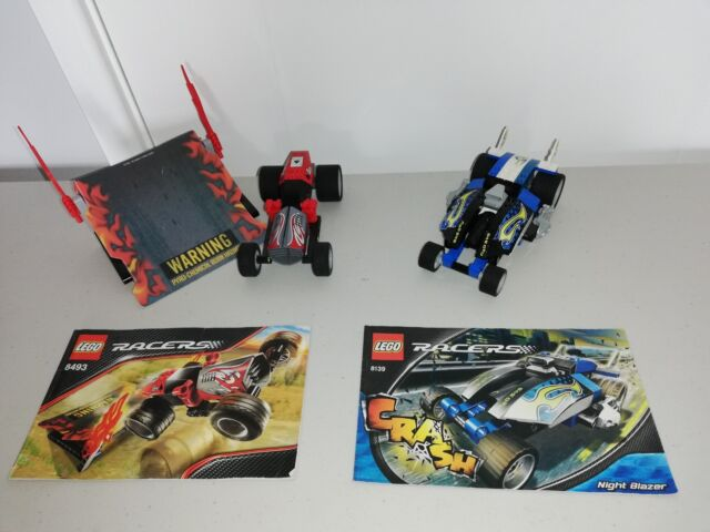 LEGO (8139, 8493) RACERS Night Blazer and Red Ace
