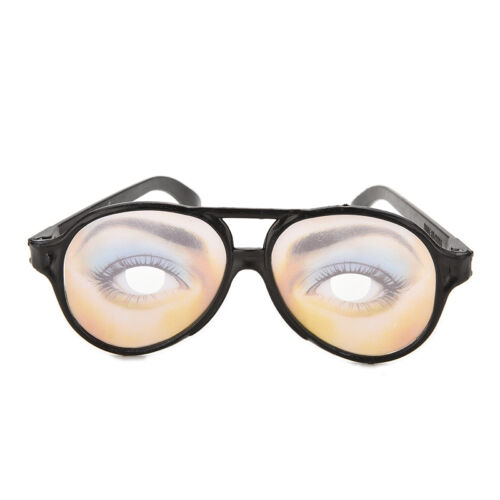 HALLOWEEN PARTY Funny Glasses Fake Novelty Gag Prank Eye Ball Joke Toy YJ