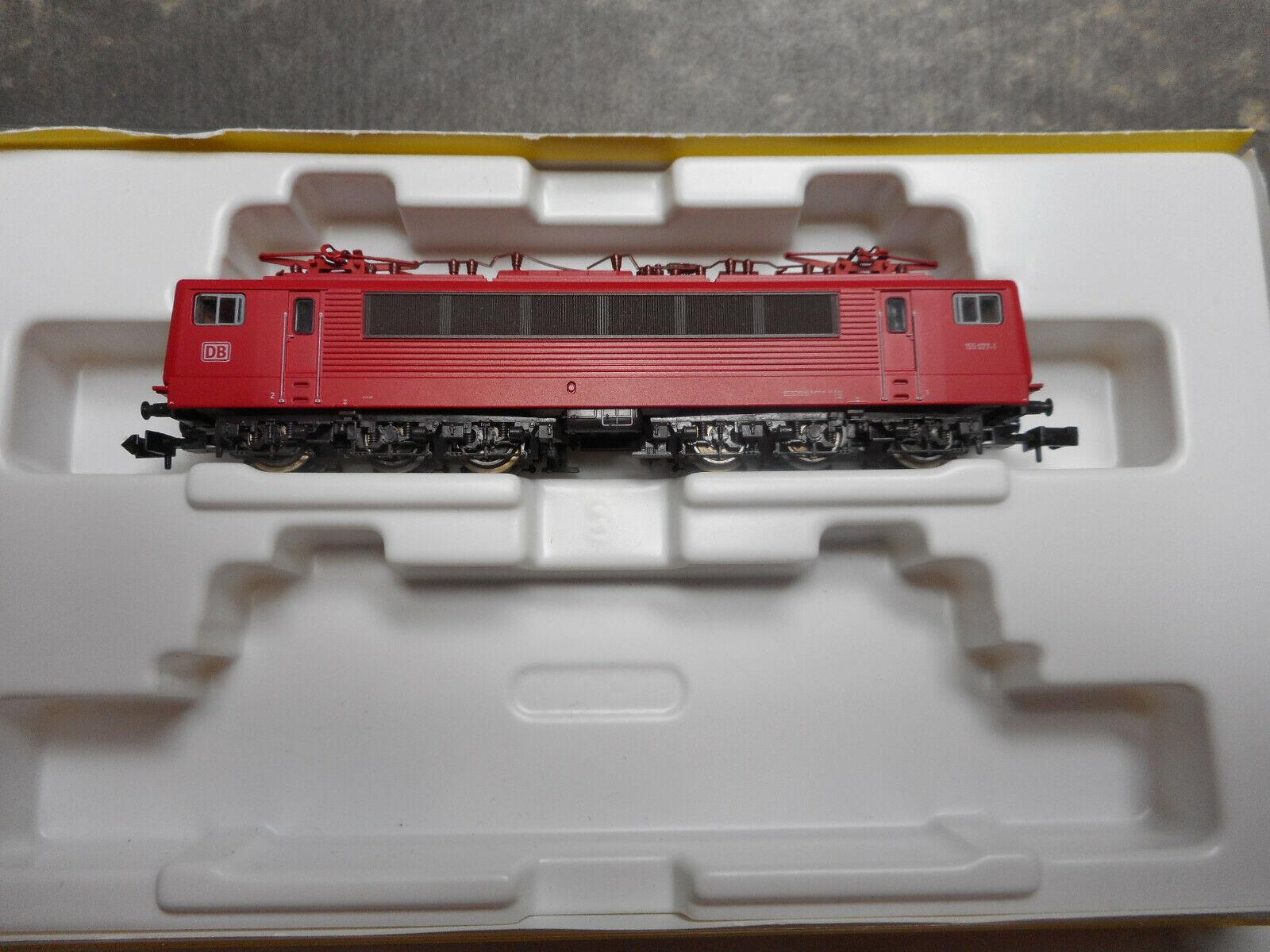 Minitrix N 12506 E-Lok BR155077-1 DB  in OVP