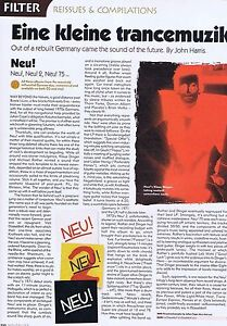NEU  LP REISSUES REVIEWS original press clipping 22x30cm - Bournemouth, United Kingdom - NEU  LP REISSUES REVIEWS original press clipping 22x30cm - Bournemouth, United Kingdom