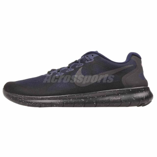 b81f5f6dfbf88 ... free shipping nike free rn 2017 shield running mens shoes nwob black aa3760  001 01e7c 4ae3d