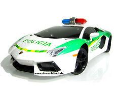 RC Lamborghini Aventador Dubai Polizei-Police CAR LP700-4 Luxus Modellauto 1:10