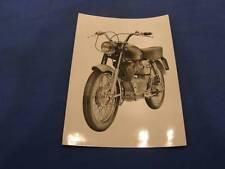 Original Press Photo Moto Guzzi 125cc Sport Beautiful Picture 477