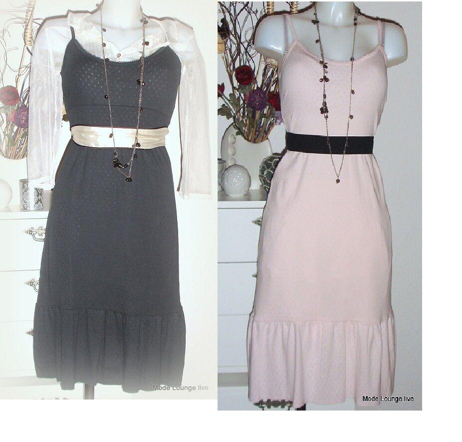 NOA NOA dress Kleid Tunika Basic Doria pink kiss blue grey grey kjole Baumwolle