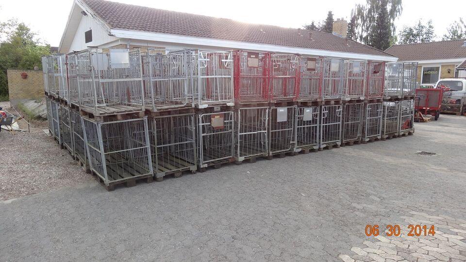 Pallebur / Stålbur / DSB bur - pris/stk