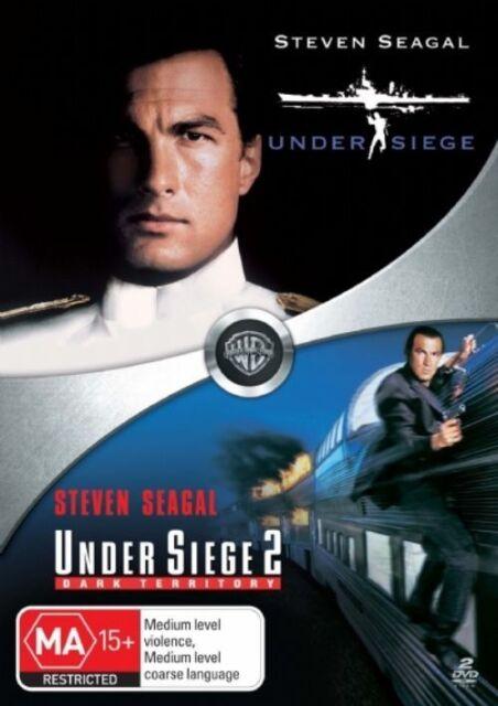 Under Siege / Under Siege 2: Dark Territory DVD region 4 (Steven Seagal)