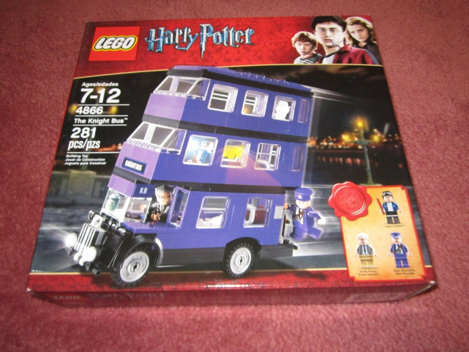 LEGO HARRY POTTER POTTER POTTER KNIGHT BUS 4866 - NEW BOXED SEALED - SEE PHOTOS 05f8f1