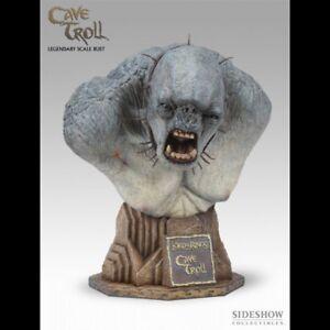 Sideshow Cave Troll Legendary Scale Bust Lotr Seigneur Des Anneaux Buste Lsb
