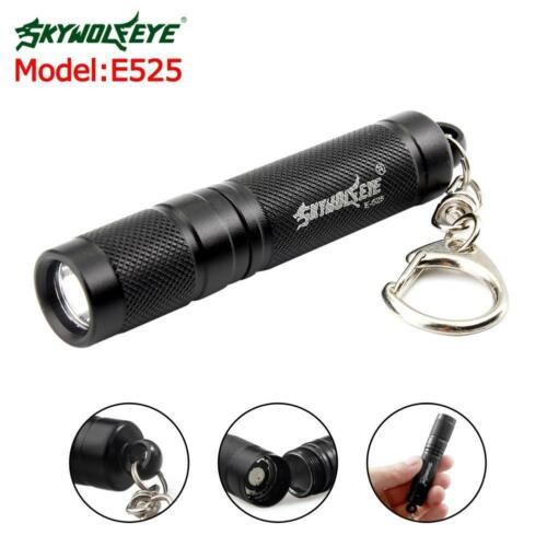 Waterproof 4000 LM Pocket LED Flashlight 3 Modes Zoomable Torch Mini Penlight ZH