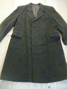 Original Vintage Austin Reed 100 Cashmere Men S Crombie Size 46r Ebay