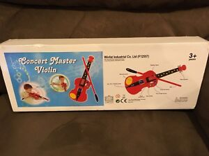 Concert-Master-Violin-Musical-Toy-Brand-New-In-Box