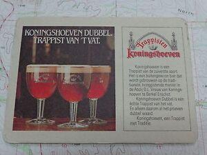 ORIGINAL Koningshoeven Quadrupel Trappist Ale Beer Tap Handle