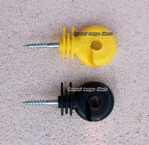 Isolatori recinti elettrici per fili e corde