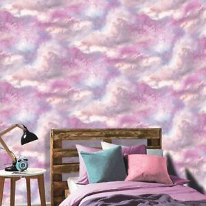 Diamond Galaxy Cloud Wallpaper Purple Arthouse 260009