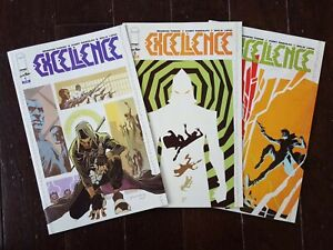 EXCELLENCE-Issues-1-3-1st-Print-NM-Condition-2019-Image-Skybound-Comics