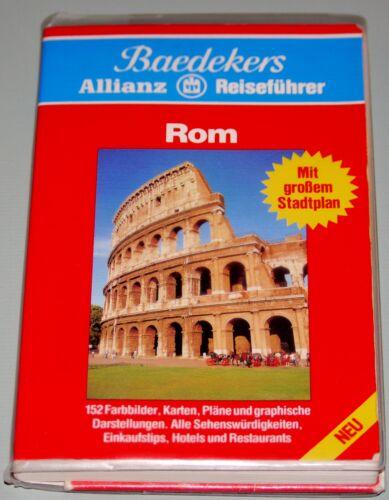 1 von 1 - ROM Baedekers Allianz Reiseführer Reiseratgeber Reiseguide Guide mit Stadtplan