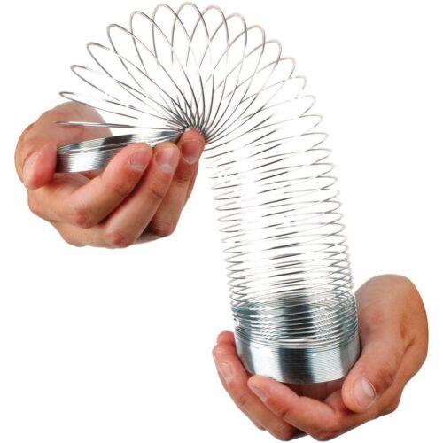 geschmeidig Retro Frühling Treppe Spielzeug Metall federnd 7cm