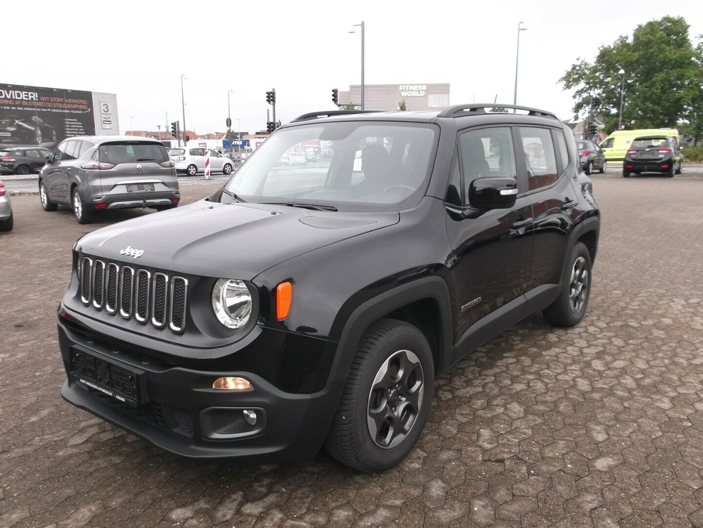 Jeep Renegade 1,6 Longitude 5d - 169.900 kr.