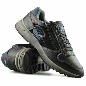 Mens-Casual-Zip-Lace-Up-Walking-Running-Hiking-Sports-Gym-Trainers-Shoes-Size