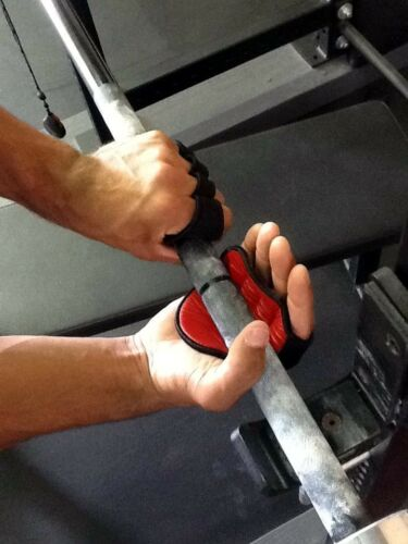 Leather Gym Gloves Grip A Better Workout No More Barehand Weight Lifting