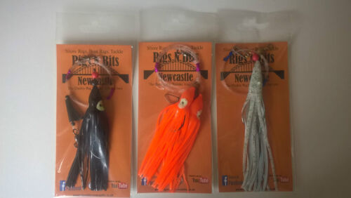 Pollack Sea fishing Boat Rigs x 3 Cod Muppet rigs Ling rigs HIGH QUALITY